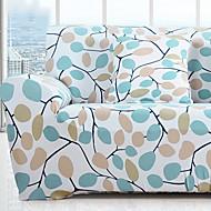 billige Overtrekk-Moderne Rustikk 100% Polyester Mønstret Toseters sofatrekk, Enkel Planter Trykket slipcovere