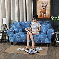 billige Overtrekk-Moderne 100% Polyester Mønstret Toseters sofatrekk, Enkel Blomstret Dyremønster Trykket slipcovere