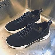 baratos Sapatos Masculinos-Homens Tecido Primavera / Outono Conforto Tênis Corrida / Fitness Preto / Cinzento / Marron