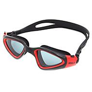 billiga Swim Goggles-Simglasögon Anti-Dimma Anti - Slit Justerbar storlek Anti-UV Reptåligt Stöttålig Anti-halk band Vattentät Kiselgel PC Gul Vit Grön Röd