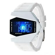 Men's Women's Fashion Watch Digital Watch Japanese Quartz Silicone Black / White / Blue 30 m Casual Watch Digital Sparkle - Black Red Blue One Year Battery Life