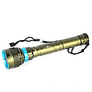 cheap Flashlights & Camping Lanterns-LED Flashlights / Torch Handheld Flashlights/Torch LED 10000lm lm 1 Mode LED Professional Anti-Shock Waterproof Wearproof