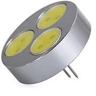 billige Bi-pin lamper med LED-SENCART 1pc 5W 320 lm G4 LED-lamper med G-sokkel T 3 leds COB Dekorativ Varm hvit Kjølig hvit 12V