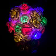billiga Belysning-Ljusslingor 40 lysdioder Dekorativ 1st