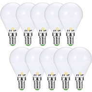cheap Lighting-EXUP® 10pcs 7W 680lm E14 E26 / E27 LED Globe Bulbs G45 6 LED Beads SMD 2835 Decorative Warm White Cold White 110-130V 220-240V