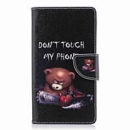 billiga Mobil cases & Skärmskydd-fodral Till Sony Xperia L2 Xperia XA2 Ultra Korthållare Plånbok med stativ Lucka Mönster Fodral Ord / fras Hårt PU läder för Xperia XA2
