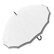 baratos Mais Populares-boy® Tecido Mulheres / Todos Ensolarado e chuvoso / Prova-de-Vento / novo Guarda-chuva Reto
