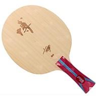 baratos Tenis de Mesa-DHS® Hurricane B-FL Ping Pang/Tabela raquetes de tênis Vestível Durável De madeira Fibra de carbono 1