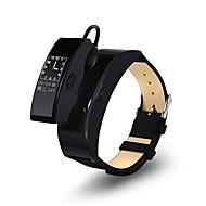 tanie Inteligentne zegarki-Słuchawki Bluetooth / Inteligentny zegarek YY-S3PLUS na Android 4.4 / iOS Pomiar ciśnienia krwi / Spalone kalorie / Odbieranie bez użycia rąk / Krokomierze / Kontrola APP Pulse Tracker / Krokomierz