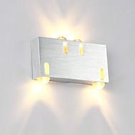 billige Vegglamper-OYLYW Mini Stil Enkel / Moderne / Nutidig Vegglamper Stue / Soverom / Innendørs Aluminum Vegglampe 85-265V 1W