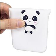 billiga Mobil cases & Skärmskydd-fodral Till Huawei P10 Lite P10 Mönster GDS (Gör det själv) Skal Panda Mjukt TPU för P10 Lite P10 P8 Lite (2017) Huawei