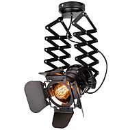 billige Spotlys-vintage loft spot light industriell anheng lys svart spotlights klær butikk taklampe