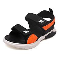 baratos Sapatos de Menino-Para Meninos Sapatos Couro Ecológico Verão Conforto Sandálias para Preto / Laranja / Vermelho