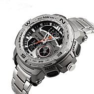 billige Quartz-Dame Quartz Digital Watch / Sportsur Japansk Vandafvisende / Stor urskive / Punk / Sej / Selvlysende i mørke / Selvlysende Rustfrit stål