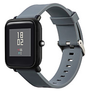 billiga Smart klocka Tillbehör-Klockarmband för Huami Amazfit Bip Younth Watch Xiaomi Modernt spänne Silikon Handledsrem