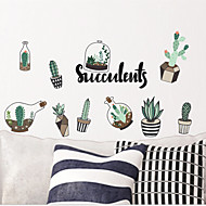 cheap Wall Stickers-Wall Decal Decorative Wall Stickers - Plane Wall Stickers Landscape Floral / Botanical Re-Positionable Removable
