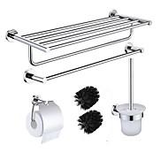 Tilbehørssæt til badeværelset Flerlags / Kreativ Moderne / Traditionel Rustfrit Stål 4stk