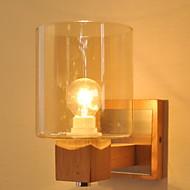 billige Vegglamper-Anti-refleksjon Vegglamper Stue Tre / Bambus Vegglampe 220-240V 40W