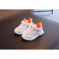 baratos Sapatos de Menino-Para Meninos / Para Meninas Sapatos Tule Primavera / Outono Conforto Tênis para Preto / Laranja / Verde