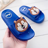 cheap Kids' Slippers-Boys' / Girls' Shoes PVC Leather Summer Comfort Slippers & Flip-Flops Animal Print for Blue / Pink