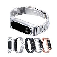 billiga Smart klocka Tillbehör-Klockarmband för Mi Band 2 Xiaomi Sportband Metall Handledsrem