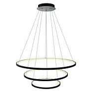 billige Takbelysning og vifter-Lightinthebox 3-Light Sirkelformet Anheng Lys Omgivelseslys - LED, 110-120V / 220-240V, Varm Hvit / Hvit / Dimbar med fjernkontroll, LED
