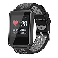 tanie Inteligentne zegarki-Inteligentne Bransoletka Ekran dotykowy Pulsometr Wodoszczelny Spalone kalorie Krokomierze Śledzenie odległości Anti-lost Obsługa aparatu