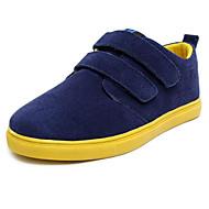 baratos Sapatos de Menino-Para Meninos Sapatos Pele Nobuck Primavera / Outono Conforto Mocassins e Slip-Ons para Azul / Verde Escuro