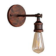 billige Vegglamper-Mini Stil Retro / vintage / Land / Traditionel / Klassisk Vegglamper Spisestue / butikker / cafeer Metall Vegglampe 110-120V / 220-240V