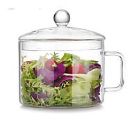 billiga Bordsservis-1 st Glas Värmetålig Hög kvalitet Kreativ Serverings- och salladsskål Djupa tallrikar Bunke, servis