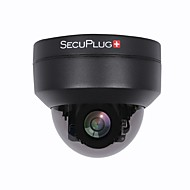 billige Utendørs IP Nettverkskameraer-SecuPlug+ SP-MG03AR-2.0MP-B 2mp IP Camera Utendørs with Zoom