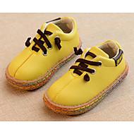 tanie Obuwie dziewczęce-Dla chłopców / Dla dziewczynek Obuwie PU Wiosna / Jesień Comfort Oksfordki na White / Black / Yellow