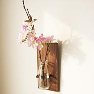 billige Kunstig Blomst-Kunstige blomster 0 Afdeling Rustikt / Europæisk Vase Vægblomst / Enkelt Vase