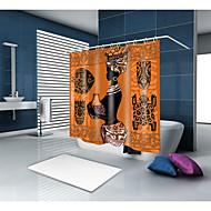 levne Sprchové závěsy-Sprchové závěsy a háčky Klasické Neoklasika Polyester Současné Novinka na stroji Voděodolné Koupelnové