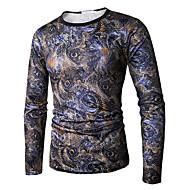 Majica s rukavima Muškarci Dnevno Color block Okrugli izrez