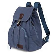 baratos Mochilas-Crianças / Unisexo Bolsas mochila Botões para Viajar Azul / Marron / Preto