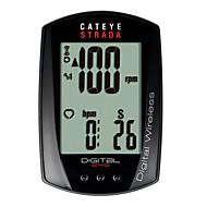 billige Sykkelcomputere og -elektronikk-CatEye® Strada Digital CC-RD410DW Sykkelcomputer Stopur Vanntett Speedometer Fjell Utendørs Sykling