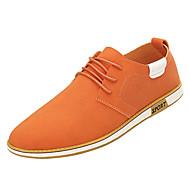 お買い得  メンズオックスフォードシューズ-男性用 靴 合皮 / PUレザー 春 / 夏 コンフォートシューズ オックスフォードシューズ ホワイト / ブラック / オレンジ