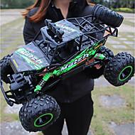 Χαμηλού Κόστους -Αυτοκίνητο RC Monster Truck Rock Crawlers 4WD 4 Κανάλι 2,4 G On-Road / Αναρρίχηση αυτοκινήτου / Off Road Αυτοκίνητο 1:12 Εναλλακτήρεςς χωρίς ψήκτρες ηλεκτρικού 12 km/h