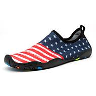 baratos Sapatos Masculinos-Homens / Unisexo Mocassim Elastano Verão / Outono Conforto Tênis Fitness / Água / Tênis Anfíbio Azul