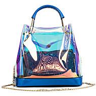 Per donna Sacchetti PVC / PU sacchetto regola Set di borsa da 2 pezzi Bottoni Oro / Argento / Rosso