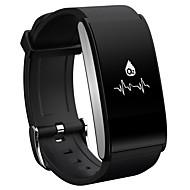 tanie Inteligentne zegarki-Inteligentny zegarek Ekran dotykowy Pulsometr Wodoszczelny Spalone kalorie Krokomierze Anti-lost Obsługa aparatu Obsługa wiadomości