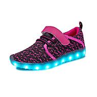 tanie Obuwie dziewczęce-Dla dziewczynek Dla chłopców Buty Oddychająca Mesh Materiał do wyboru Lato Jesień Świecące buty Comfort Buty do lekkiej atletyki Bieganie