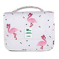 お買い得  コスメティックバッグ-Others 化粧ポーチ パターン/プリント のために カジュアル オールシーズン ホワイト ダークブルー グレー コーヒー ピンク