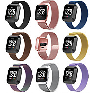 cheap -Watch Band for Fitbit Versa Fitbit Milanese Loop Stainless Steel Wrist Strap