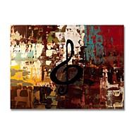 billiga Oljemålningar-Hang målad oljemålning HANDMÅLAD - Abstrakt Samtida Moderna Duk