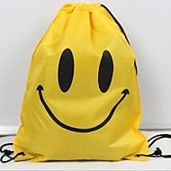 billige Skoletasker-Dame Tasker Oxfordtøj Skoletaske Mønster / tryk Blå / Lyserød / Gul