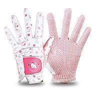 Χαμηλού Κόστους Γάντια του γκολφ-Ολόκληρο το Δάχτυλο Γυναικεία Φοριέται Αντιολισθητικά Γκολφ Γάντι Δέρμα