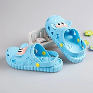cheap Kids' Slippers-Boys' Shoes PVC Leather Summer Light Soles Slippers & Flip-Flops Button for Pink / Light Blue