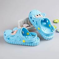 baratos Sapatos de Menino-Para Meninos Sapatos Pele PVC Verão Solados com Luzes Chinelos e flip-flops Botão para Rosa claro / Azul Claro